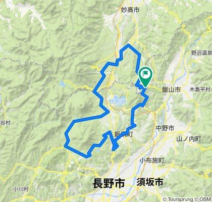 妙高戸隠連山国立公園 信越五高原ルート