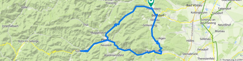 TRIESTING - PIESTING - TOUR + BIEDERMEIER - RADWEG