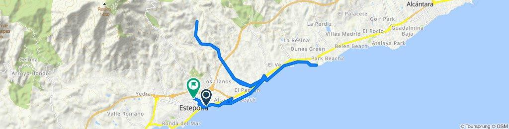 Ruta relajada en Estepona