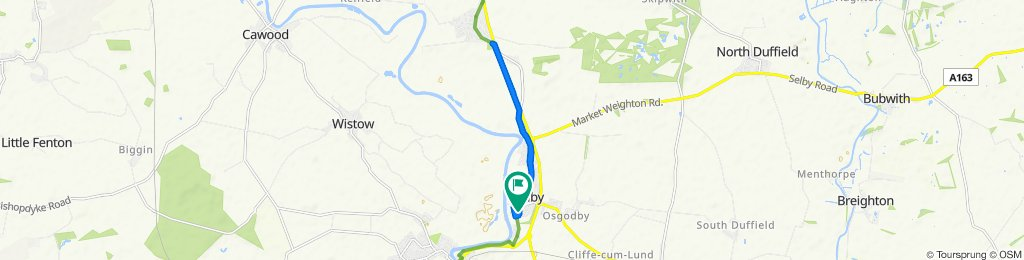 Ride 2 Barlby to Riccall and back