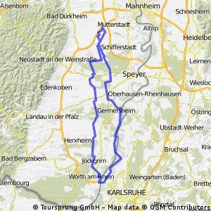 Rundkurs-Dannstadt-Karlsruhe