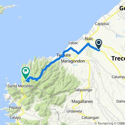 Unnamed Road, Naic to Kaybiang Tunnel, Maragondon