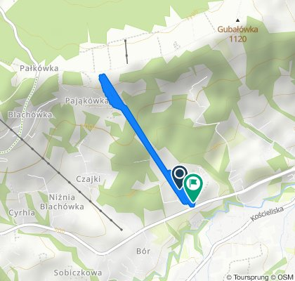 Relaxed route in Zakopane
