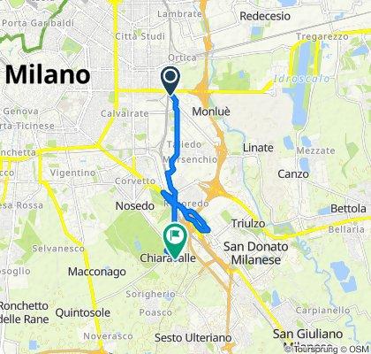 Da Via Maria Montessori 2, Milano a Via San Bernardo 32, Milano