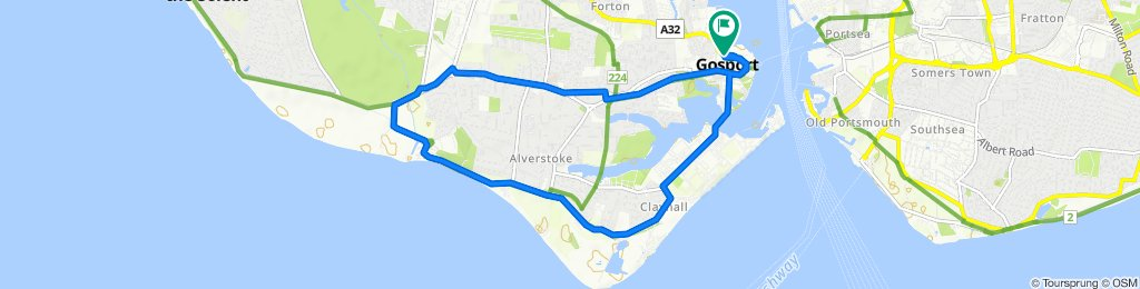 Easy ride in Gosport