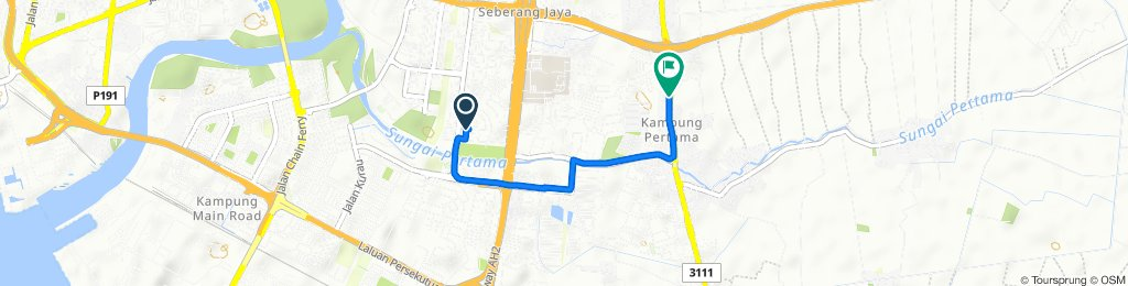 Steady ride in Bandar Seberang Jaya
