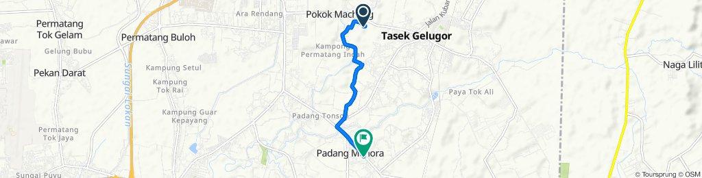Easy ride in Kampung Tasik Gelugur