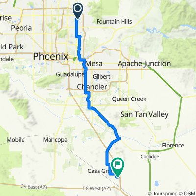 2020 SW US Tour - Scottsdale to Casa Grande - Ride Day 10