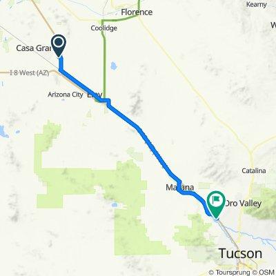 2020 SW US Tour - Casa Grande to Tucson - Ride Day 11