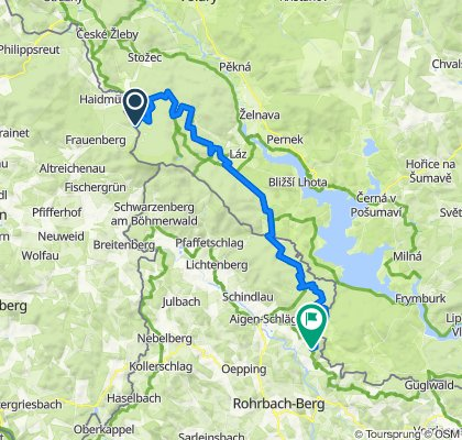Schwemmkanal Radroute