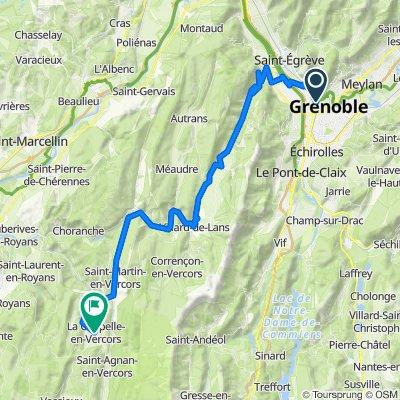 D1  Grenoble to La Chappelle-en-Vercors