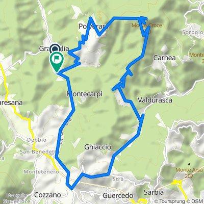 Via Graveglia 64–68, Graveglia to Via Graveglia 7–48, Graveglia