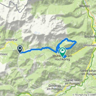Hochkönig Radtour - 2. Etappe MTB