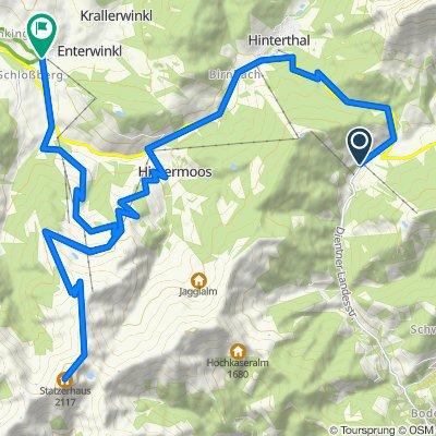 Hochkönig Radtour - 4. Etappe MTB