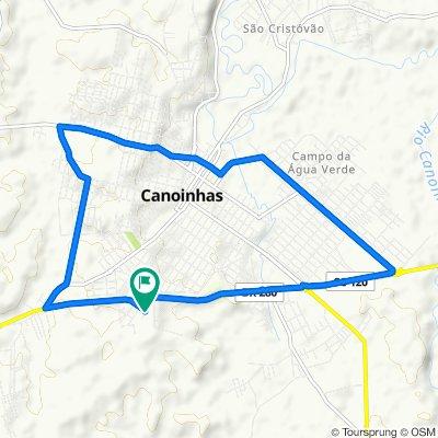 Rua Três, 123–251, Canoinhas to Rua Três, 123–251, Canoinhas