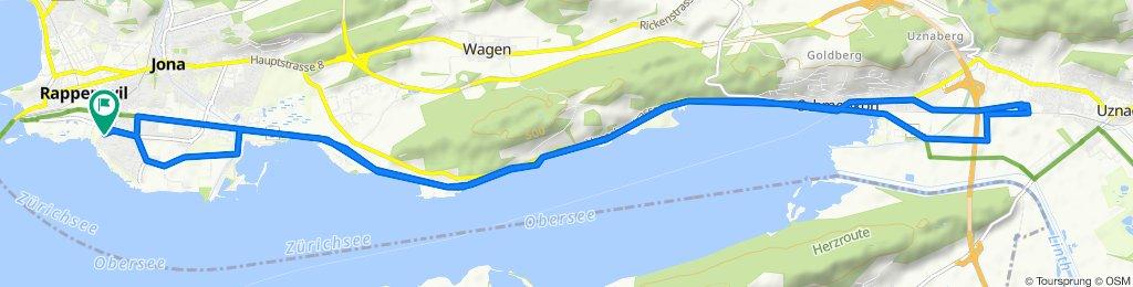 Schönbodenweg 56, Rapperswil-Jona nach Schönbodenweg 56, Rapperswil-Jona