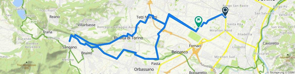 Corso Siracusa 38, Torino to Via Unità d'Italia 35, Grugliasco