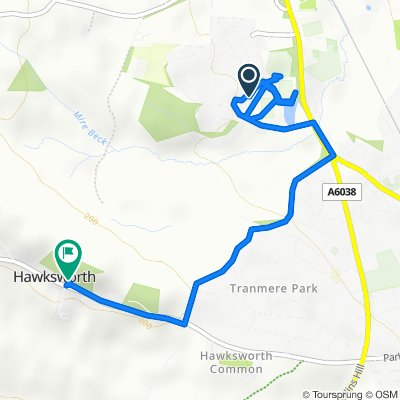 Ingle Lane, Menston to Main Street, Hawksworth