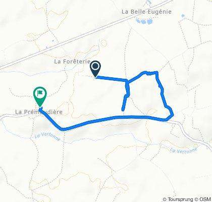 Route to 1515 Route de Poiroux, Grosbreuil
