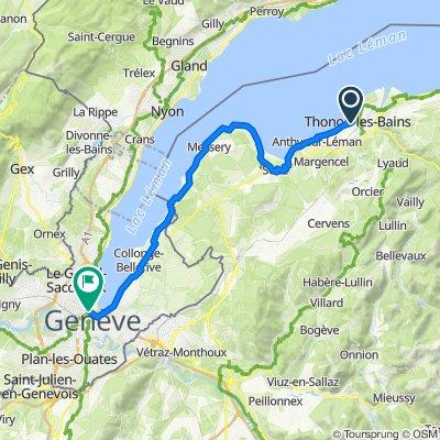 2: ViaRhôna de Thonon à Genève