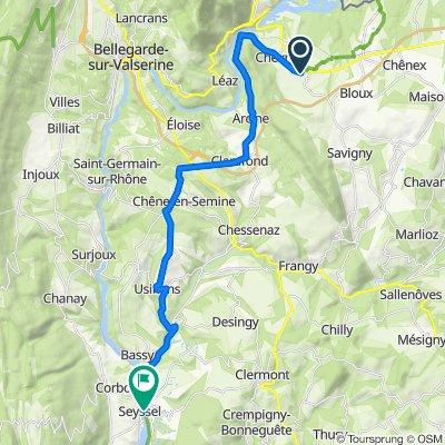 4: ViaRhôna de Vulbens à Seyssel