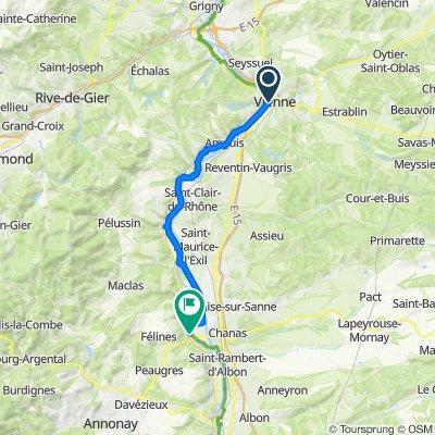 11: ViaRhôna de Saint-Romain-en-Gal / Vienne à Sablons