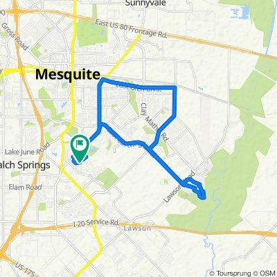 820 Waterwood Ln, Mesquite to 820 Waterwood Ln, Mesquite