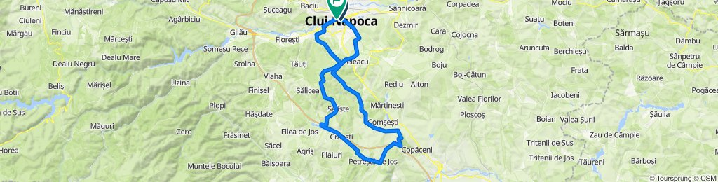 Cluj-Micesti-Tureni-Craiesti-Saliste-Cluj