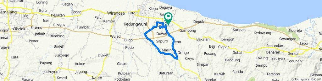 High-speed route in Kecamatan Batang
