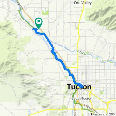2020 SW US Tour - North Tucson to Downtown - Circle - Ride Day 12