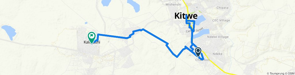 Unnamed Road, Kitwe to Buteko Drive, Kalulushi