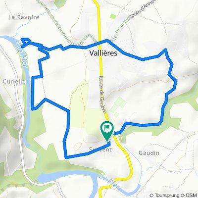 Route stable en Vallières