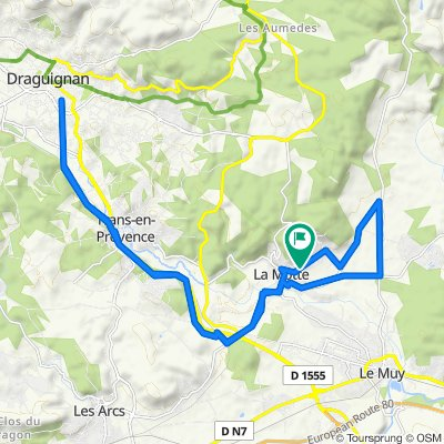 Route stable en La Motte