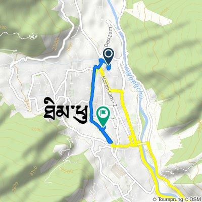 Karma Drubdey Building, Thimphu to Jangchhub Lam, Thimphu