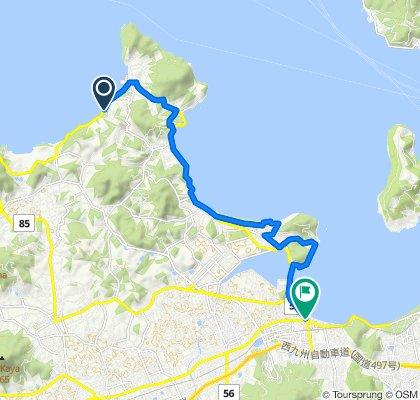 一般県道西ノ浦今宿自転車道線(玄海自転車道)