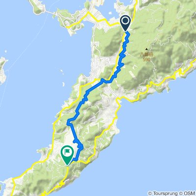 一般県道長崎野母崎自転車道線(野母半島サイクリング道路)