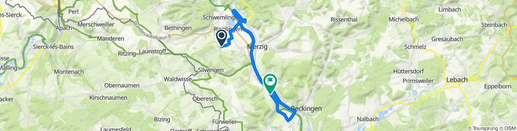Schnelle Tour in Merzig