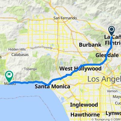 2261 Luana Ln, Montrose to 23818–23852 Stuart Ranch Rd, Malibu
