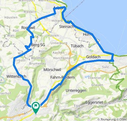 Grütlistrasse 18, St. Gallen to Grütlistrasse 18, St. Gallen