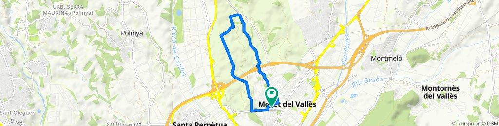 Carrer Aureli Maria Escarre, 39, Mollet del Vallès to Calle Antonio Machado, 2, Mollet del Vallès