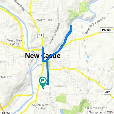1314 S Jefferson St, New Castle to 1314 S Jefferson St, New Castle