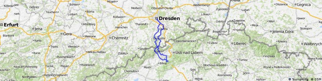 Dresden - Milešovka