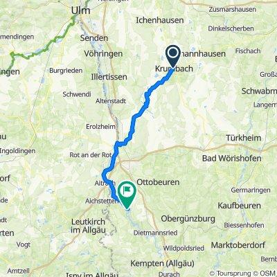 Krumbach - Illersteg (Aussichtsturm)