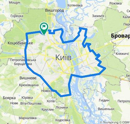 Киев мега кольцо