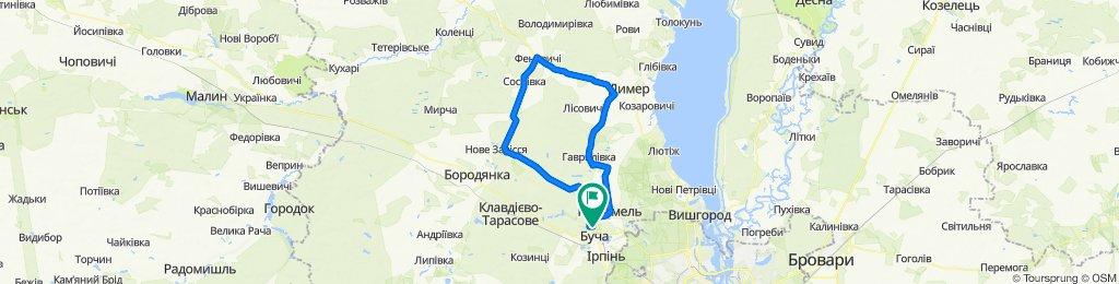 Chicken Kyiv Ride (зимняя прикатка)