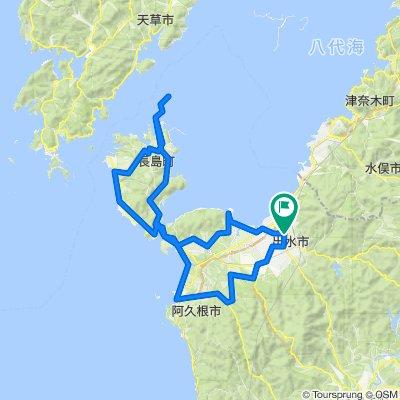 出水・阿久根・長島 北薩摩満喫コース