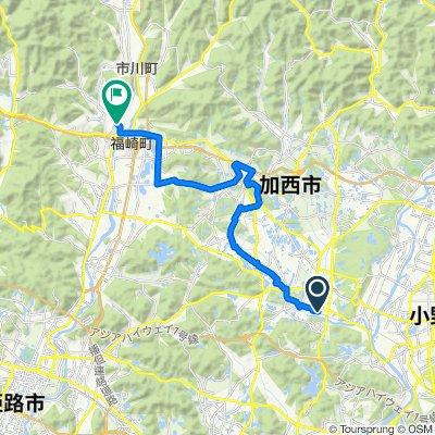 田園走る北条鉄道コース