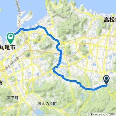 一般県道香川坂出丸亀自転車道線(綾川自転車道)