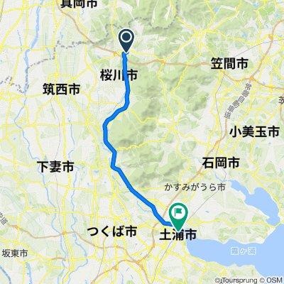 一般県道岩瀬土浦自転車道線(筑波自転車道)