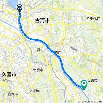 一般県道古河岩井自転車道線(利根渡良瀬自転車道)